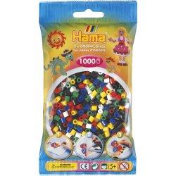 Hama 207-66 - Dodatkowe Koraliki midi, 1000szt mix kolorów