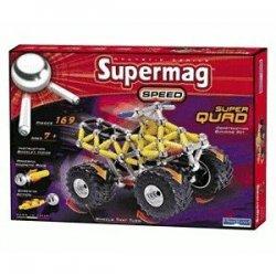 Supermag Super Quad 169 elementy, klocki magnetyczne