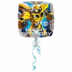Transformers Urodzinowy Balon Foliowy - 43cm - Happy Birthday