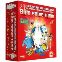 Serialowa Edukacyjna Gra planszowa Było Sobie Życie