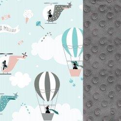 Kura Babci Dany - Miss cloudy, grey - La Millou