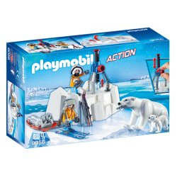 Playmobil 9056 - Strażnicy polarni z niedźwiedziami polarnymi
