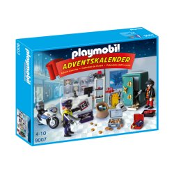"""Playmobil 9007 - Kalendarz adwentowy """"Akcja policyjna w sklepie jubilerskim"""""""