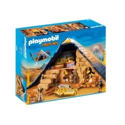 Playmobil 5386 - Piramida Faraona z Ukrytymi Skarbami