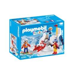 Playmobil 9283 - Bitwa na śnieżki