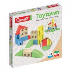 Klocki drewniane Quercetti - Toytown 22el