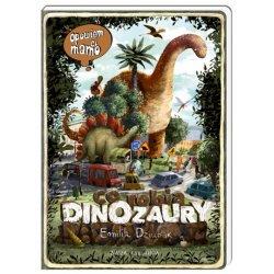 Książka Opowiem Ci mamo co robią dinozaury - Wydawnictwo Nasza Księgarnia