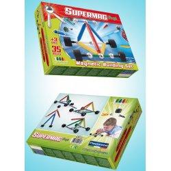 Supermag Maxi Koła 35 el - Klocki Magnetyczne
