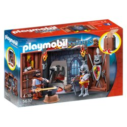 Playmobil 5637 - Play Box Knights - Kuźnia Rycerska