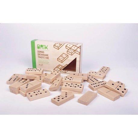 Drewniane domino BRIK