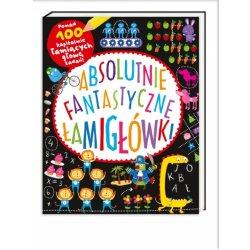 Książka Absolutnie fantastyczne łamigłówki - Wydawnictwo Nasza Księgarnia
