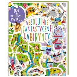 Książka Absolutnie fantastyczne labirynty - Wydawnictwo Nasza Księgarnia