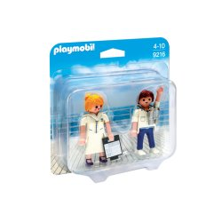 Playmobil 9216 - Duo Pack Stewardesa i oficer