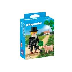 Playmobil 9296 - Kominiarz z konieczynką i świnką