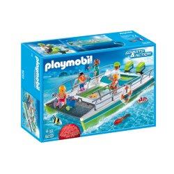Playmobil 9233 - Łódź ze szklanym dnem i silnikiem podwodnym