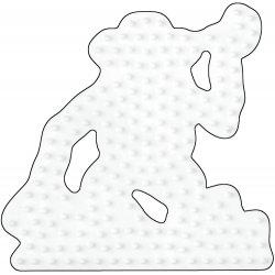Hama 297 - podkładka Małpka - koraliki midi