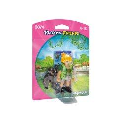 Playmobil 9074 - Opiekunka zwierząt z gorylątkiem