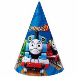 6 papierowych czapeczek Tomek i Przyjaciele