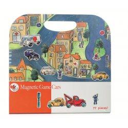 Gra magnetyczna samochody - Magnetic Game cars - Egmont Toys