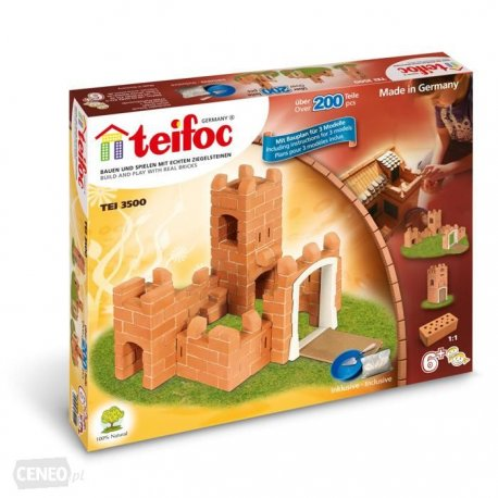 Mały Zamek - 3 plany - 200el - TEIFOC - 3500