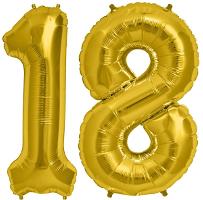 Balony Foliowe Urodzinowe - CYFRY