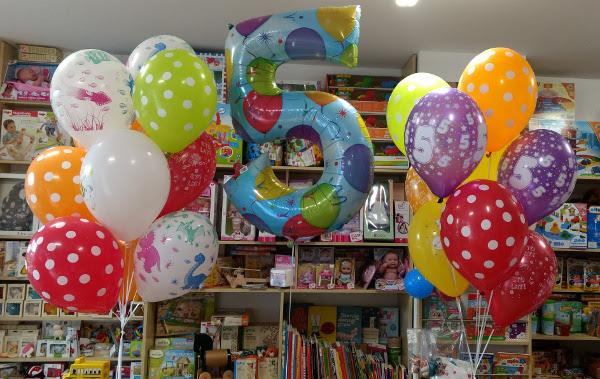 Balony z helem na 5 urodziny - Kraków
