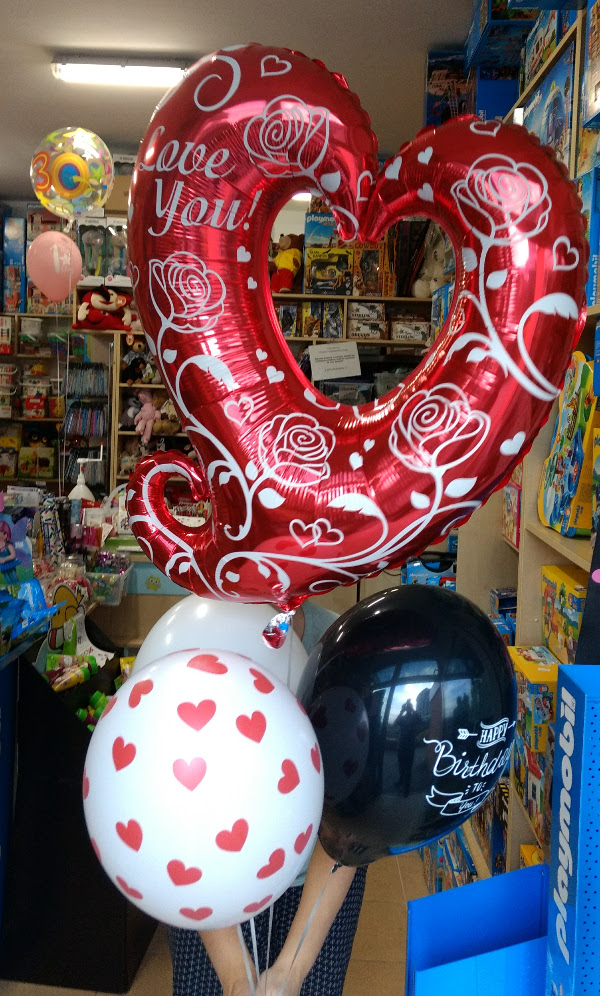 Balon Serce - dla zakochanych!