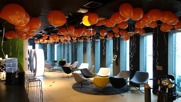 Balony na imprezę firmową w Krakowie