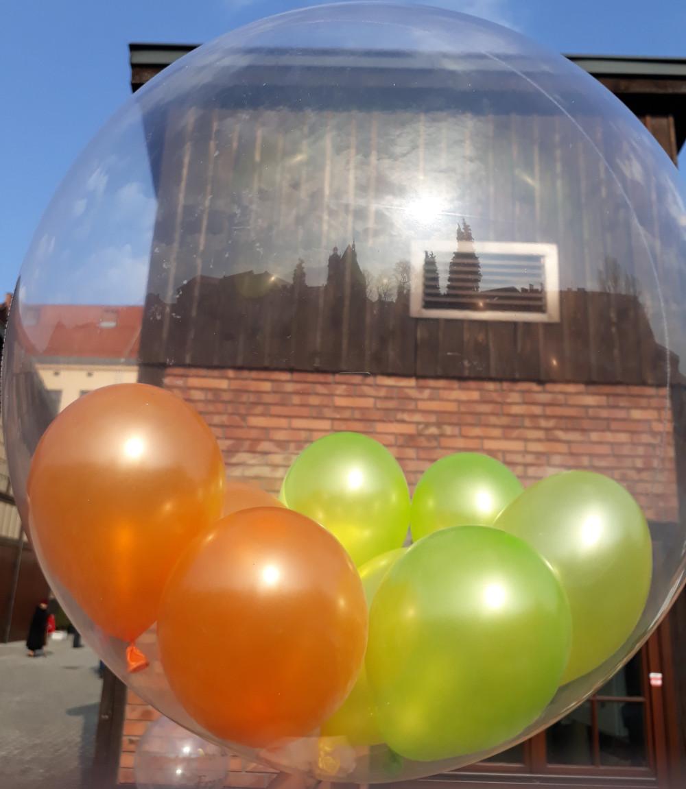 Balon Dekoracyjny Deco Bubble - przeźroczysty. Balony w Balonie