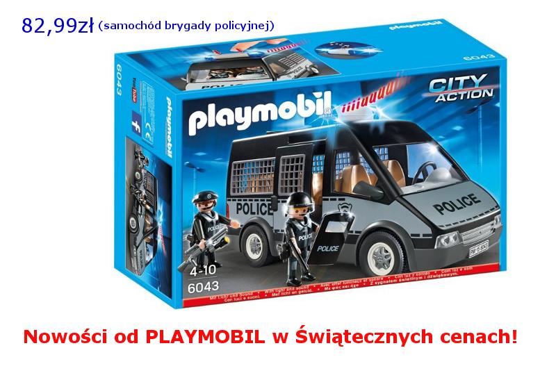 Playmobil Policja na promocji!