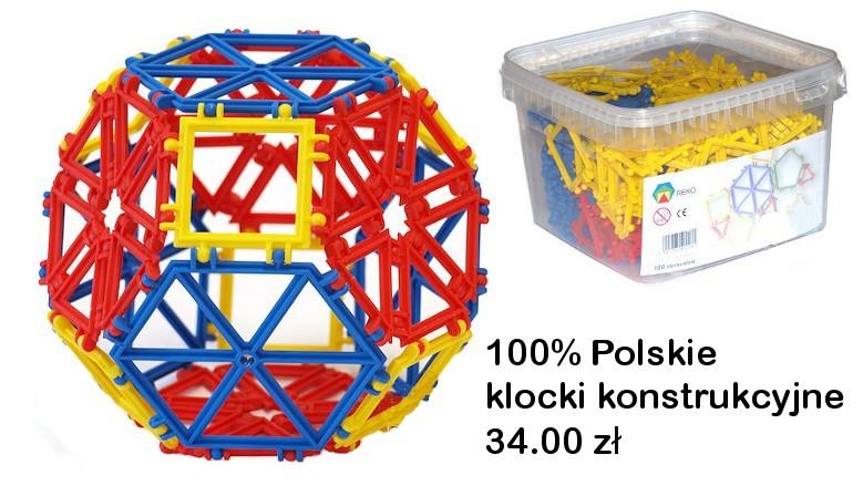 Polskie klocki konstrukcyjne - Made in PolandBelgijskie klocki CLICS