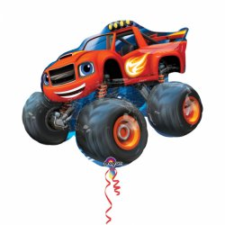 Blaze and the Monster Machines - Balon Foliowy SuperShape