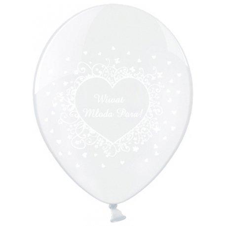 Wiwat Młoda Para - balony weselne Kraków