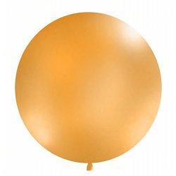 Balon Gigant o średnicy 1m - Pastel Pomarańczowy