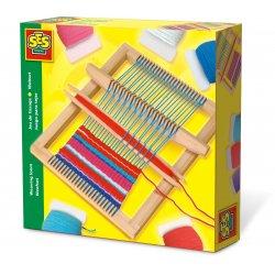 Drewniane krosno tkackie dla dzieci, SES Creative