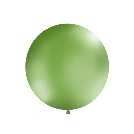 Balon Gigant o średnicy 1m - Pastel Zielony