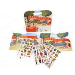 Gra magnetyczna Zakupy, Magnetic Game Shopping, Egmont Toys