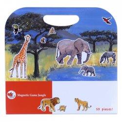 Gra Magnetyczna Dżungla, Magnetic Game Jungle, Egmont Toys