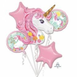 Bukiet Balonów Foliowych - Unicorn