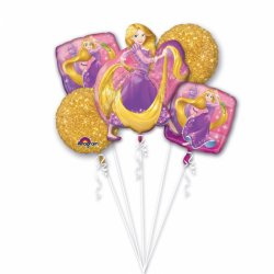 Bukiet Balonów Foliowych - Roszpunka' Baśń o Księżniczce