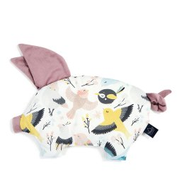 Podusia Sleepy Pig Velvet, Cute birds, French Lavender, La Millou