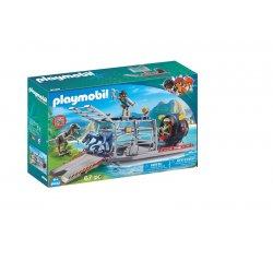 Playmobil 9433, Łódź śmigłowa z klatką