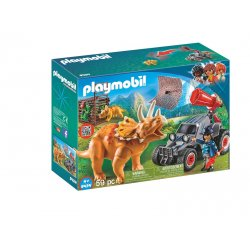 Playmobil 9434, Samochód terenowy z działającą wyrzutnią sieci
