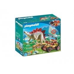 Playmobil 9432, Pojazd badawczy ze stegozaurem