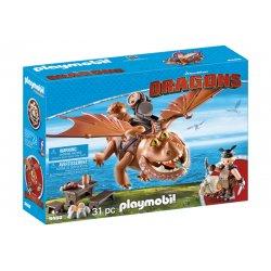 Playmobil 9460, Dragons Jak wytresować smoka, Śledzik i Sztukamięs