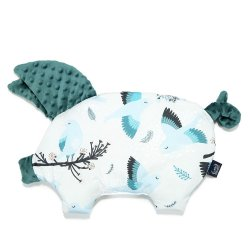 Podusia Sleepy Pig Velvet, Blue Birds, Deep Ocean , La Millou