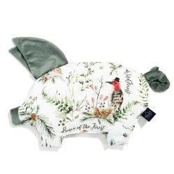 Podusia Sleepy Pig Velvet, Forest, Khaki, La Millou