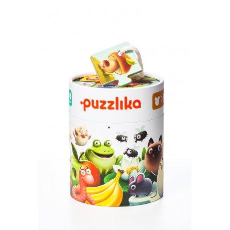 Cubika Puzzlika duo, Co jedzą zwierzątka?