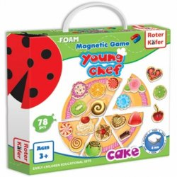 Gra magnetyczna Ciasto - Roter Kafer