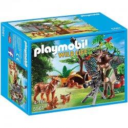 Playmobil 5561, Rodzina rysiów z kamerzystą, Playmobil Wild Life